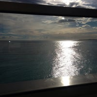 Photo taken at Rooftop Pool @ Le Méridien Nice by Duc d. on 11/24/2013