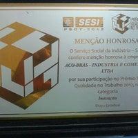Photo taken at Aço Bras by Eduardo P. on 1/17/2014