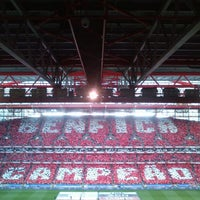 Photo taken at Estádio do Sport Lisboa e Benfica by João L. on 4/21/2013
