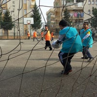 Photo taken at Yenişehir Ortaokulu by Tuncay S. on 1/17/2014