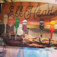 Photo taken at Elk Head Tap Room by Elena M. on 3/8/2014