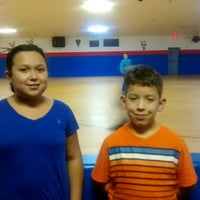 Photo taken at Rainbow Roller Rink by Lola M. on 12/6/2014