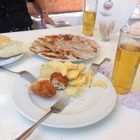 Photo taken at Café Bar El Mirabrás by Raul G. on 6/28/2014