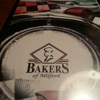 Photo taken at Bakers of Milford by Kristen H. on 4/16/2013
