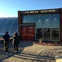 Photo taken at Taos Mesa Brewing by Sophie C. on 2/28/2013