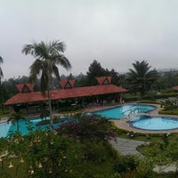 Photo taken at Sinabung Hills Resort Hotel by Vinsensius J. on 5/27/2014