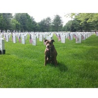 Photo taken at State Veterans Cemetery by Jerome B. on 5/24/2014