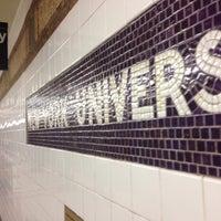 Photo taken at MTA Subway - 8th St/NYU (R/W) by Tom S. on 6/10/2014