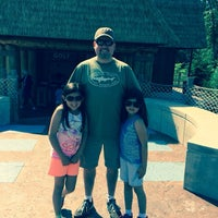 Photo taken at Essex County Mini Golf Safari by Tom S. on 6/15/2014