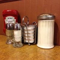 Photo taken at Maple Leaf Diner by Tom S. on 10/6/2012