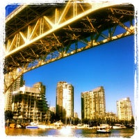 Photo taken at Aquabus Granville Island Dock by Jamie F. on 6/18/2013