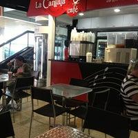 Photo taken at La Cantata Café by Ruben G. on 1/31/2013