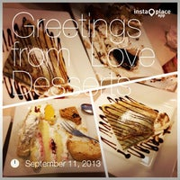 Photo taken at Love Desserts by Christopher Lee B. on 9/11/2013
