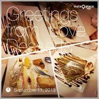 9/11/2013 tarihinde Christopher Lee B.ziyaretçi tarafından Love Desserts'de çekilen fotoğraf