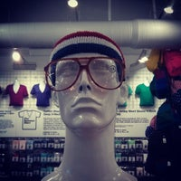 Photo taken at American Apparel by del on 10/20/2013