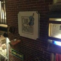 Photo taken at Club Passim by Ben I. on 1/8/2013