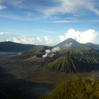 Photo taken at Mount Bromo by Ronaldo M. on 5/24/2013