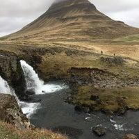 Photo taken at Kirkjufellsfoss by Julie E. on 5/9/2017