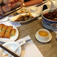 Photo taken at Jiang Shan Hui Chinese Cuisine 江山薈京川滬菜館 by Ирина К. on 5/15/2013