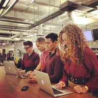 Photo taken at Square HQ by Sharman O. on 1/16/2013