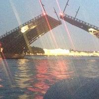 Photo taken at Palace Bridge by Dasha on 6/10/2013