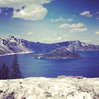 Photo taken at Crater Lake National Park by Caleb L. on 5/12/2013