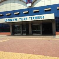 Photo taken at Lokmanya Tilak Terminus by Ayesha S. on 3/10/2013