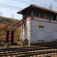 Photo taken at Igatpuri Railway Station by Ayesha S. on 3/10/2013