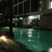Photo taken at Swimming Pool by ATang H. on 2/20/2013