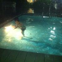 Photo taken at Swimming Pool by ATang H. on 11/24/2012