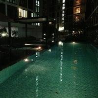 Photo taken at Swimming Pool by ATang H. on 1/5/2013