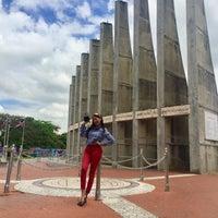 Photo taken at Monumento alos Constituyentes by Genesis Mariel F. on 4/24/2018