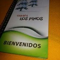 Photo taken at Cabaña Los Pinos by Yaritza C. on 11/25/2013
