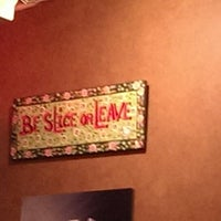 Photo taken at Slice Pizzeria by Uday M. on 5/23/2013