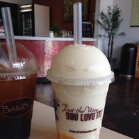 Photo taken at BAMBU Desserts & Drinks by Roxanne W. on 7/6/2014
