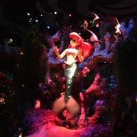 Photo taken at The Little Mermaid ~ Ariel's Undersea Adventure by Elaine L. on 12/14/2012