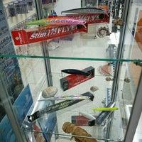 Photo taken at Kılınçlı Av Store by Mehmet K. on 11/21/2016