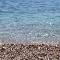 Photo taken at Olympos Plajı by Gözde S. on 7/6/2013
