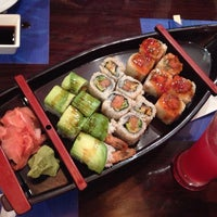 Photo taken at Sumo Sushi & Bento, Garhoud by Brian P. on 6/5/2014