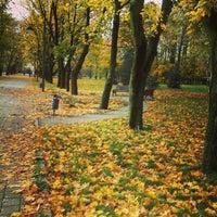 Снимок сделан в Ботанический сад КубГАУ им. И.С. Косенко пользователем Yuri S. 10/20/2013