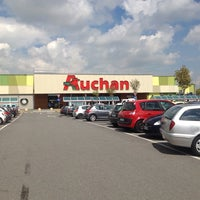 Photo taken at Auchan by Luca T. on 4/22/2014