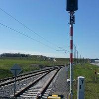 Photo taken at Železniční stanice Sedlnice by Jan V. on 4/17/2016