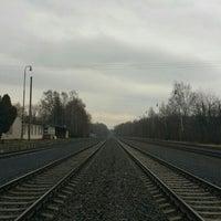 Photo taken at Železniční stanice Sedlnice by Jan V. on 2/18/2016