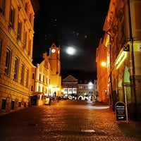 Photo taken at Krakonošovo náměstí by Jan V. on 8/17/2016