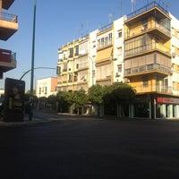 Photo taken at Carretera de Carmona by Javier d. on 8/14/2013