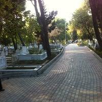 Photo taken at Çamlık Mezarlığı by Umut Y. on 10/15/2013