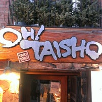 Photo taken at Oh! Taisho by Amy T. on 3/10/2013