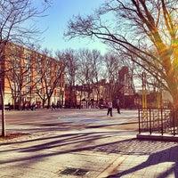 Photo taken at Sara Delano Roosevelt Park Playground by Max M. on 2/15/2013
