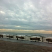 Photo taken at Long Beach Boardwalk - National Blvd by murielle S. on 12/26/2013