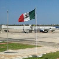 Photo taken at Aeropuerto Internacional de Mérida Manuel Crecencio Rejón (MID) by Manuel Eduardo G. on 2/24/2013